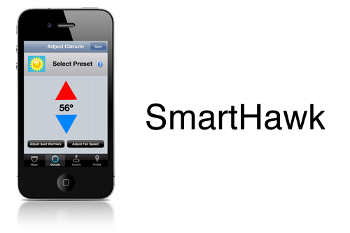 SmartHawk iPhone app